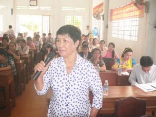 Đại biểu Quốc hội, HĐND tỉnh tiếp xúc cử tri