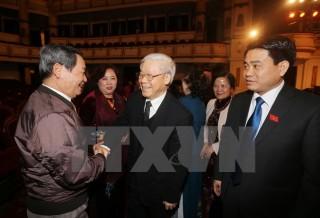 Gặp mặt đại biểu Quốc hội thành phố Hà Nội qua các thời kỳ