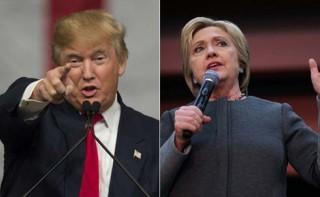 Bầu cử Mỹ 2016: Ứng cử viên Hillary Clinton và Donald Trump thắng lớn