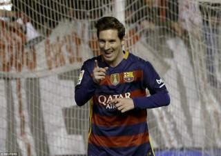 Messi ghi 3 bàn, Barca đại thắng Rayo Vallecano