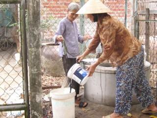 Phục hồi nhiều giếng hộc để lấy nước