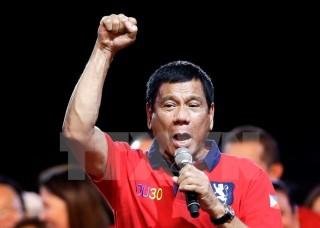 Bầu cử Tổng thống Philippines: Ông Rodrigo Duterte chiến thắng
