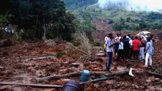 Lở đất khiến nhiều người thiệt mạng tại Sri Lanka
