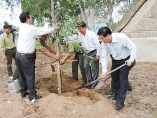 Tích cực hưởng ứng, tham gia phong trào Tết trồng cây