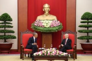 Tổng Bí thư Nguyễn Phú Trọng tiếp Tổng thống Hoa Kỳ Barack Obama