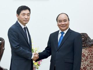 Thủ tướng Nguyễn Xuân Phúc tiếp Đại sứ đặc mệnh toàn quyền Đại Hàn Dân Quốc tại Việt Nam