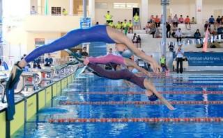 Khởi tranh Giải bơi, lặn vô địch trẻ quốc gia 2016