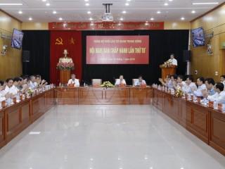 Hội nghị lần thứ 4 Ban Chấp hành Đảng bộ Khối các cơ quan TW