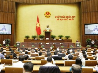 Thông cáo số 1 Kỳ họp thứ Nhất, Quốc hội khóa XIV