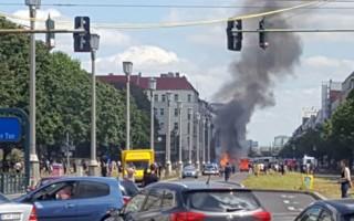 Nổ lớn tại thủ đô Berlin, Đức giữa lúc có đe dọa khủng bố