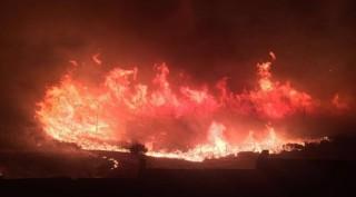 Cháy lớn gần căn cứ NATO ở thành phố phía Tây Thổ Nhĩ Kỳ