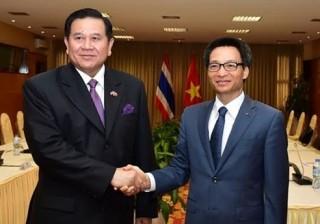 Phó Thủ tướng Vũ Đức Đam thăm chính thức Vương quốc Thái Lan