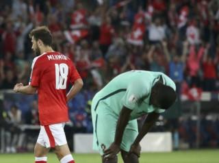 Vắng Ronaldo, Bồ Đào Nha bị Thụy Sĩ quật ngã
