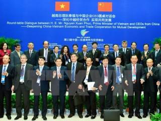 Thủ tướng Nguyễn Xuân Phúc đối thoại với các CEO hàng đầu Trung Quốc