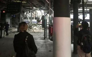 Đoàn tàu đâm vào nhà ga ở Mỹ làm 100 người bị thương