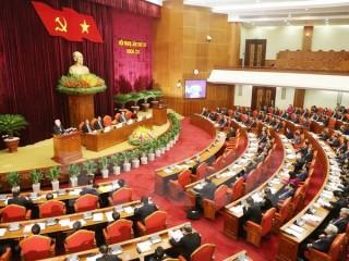 Ngày làm việc thứ hai Hội nghị lần thứ tư Ban Chấp hành TW Đảng