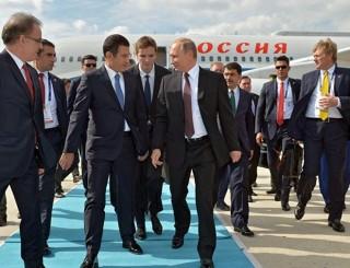 Tổng thống Nga Vladimir Putin bắt đầu chuyến thăm Thổ Nhĩ Kỳ