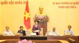 Bế mạc Phiên họp thứ Tư của Ủy ban Thường vụ Quốc hội khóa XIV