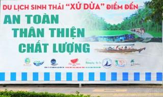 """Ấn tượng du lịch sinh thái """"xứ Dừa"""""""