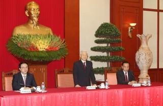 Tổng Bí thư Nguyễn Phú Trọng tiếp Trưởng đoàn các đảng dự Cuộc gặp quốc tế các đảng cộng sản và công nhân lần thứ 18