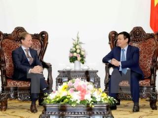 Phó Thủ tướng Vương Đình Huệ tiếp Trưởng Phái đoàn EU tại Việt Nam