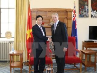 Phó Thủ tướng Phạm Bình Minh thăm chính thức New Zealand