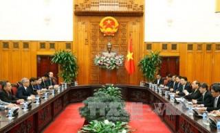 Thủ tướng Nguyễn Xuân Phúc tiếp Bộ trưởng Bộ Tài nguyên và Môi trường Lào