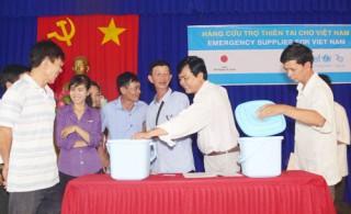 UNICEF hỗ trợ 47 xã khắc phục hạn hán, xâm nhập mặn
