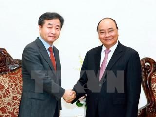 Thủ tướng tiếp Chủ tịch Hãng thông tấn Hàn Quốc Yonhap