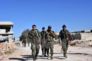 Syria giành lại một thị trấn có nhiều xưởng sản xuất vũ khí từ IS