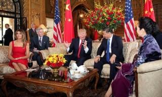 Tổng thống Mỹ Donald Trump tiếp Chủ tịch Trung Quốc Tập Cận Bình