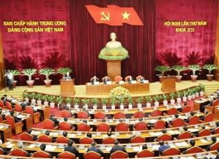 Ngày làm việc thứ hai Hội nghị lần thứ năm Ban Chấp hành Trung ương Đảng khóa XII