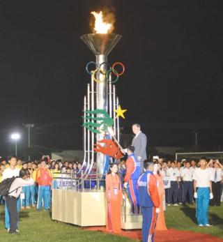 Khai mạc Đại hội Thể dục thể thao đồng bằng sông Cửu Long lần thứ VII năm 2017