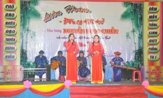 Giữ gìn, bảo tồn và phát huy giá trị truyền thống văn hóa trên địa bàn huyện
