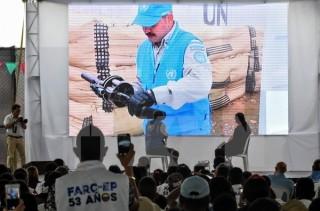 Colombia: FARC chính thức hoàn thành giải giáp vũ khí