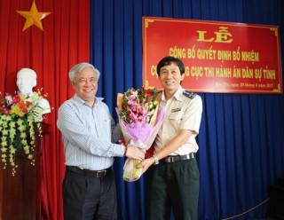 Ông Nguyễn Văn Nghiệp làm Cục trưởng Cục Thi hành án dân sự tỉnh