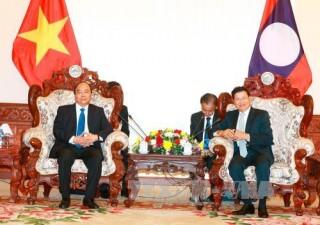 Phát huy tình hữu nghị vĩ đại, đoàn kết đặc biệt và hợp tác toàn diện của hai nước Lào - Việt nam