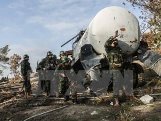 Quân đội Syria cùng Hezbollah đánh bại Mặt trận Al-Nusra tại biên giới