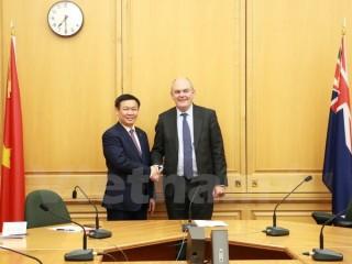 Phó Thủ tướng Vương Đình Huệ thăm chính thức New Zealand