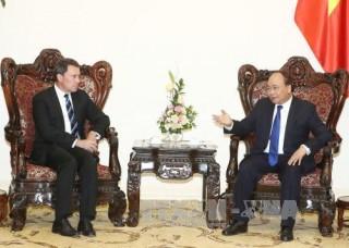 Thủ tướng Nguyễn Xuân Phúc hoan nghênh ExxonMobil triển khai các hoạt động hợp tác đầu tư tại Việt Nam