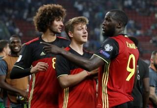 Bỉ đoạt vé đầu tiên ở khu vực châu Âu dự World Cup 2018
