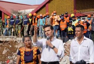 Chủ tịch nước gửi điện thăm hỏi tới Tổng thống Liên bang Mexico