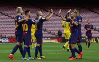 Barca và Real Madrid cùng thắng ở vòng 7 La Liga