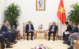 Thủ tướng Nguyễn Xuân Phúc tiếp Tập đoàn AB InBev (Vương quốc Bỉ)