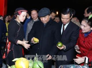 Thủ tướng tham quan Không gian văn hóa - du lịch tỉnh Hà Giang