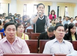 Đóng góp dự thảo báo cáo của Liên đoàn Lao động tỉnh và Điều lệ Công đoàn Việt Nam