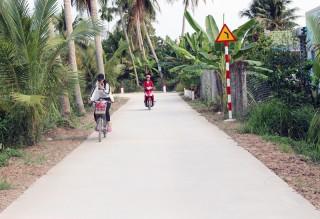Hiến đất xây dựng hạ tầng nông thôn