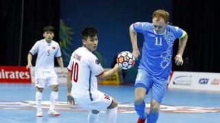 Gục ngã trước Uzbekistan, ĐT futsal Việt Nam dừng bước ở tứ kết