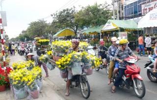 Nhộn nhịp Hội chợ hoa xuân 2018