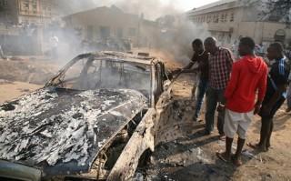 18 người thiệt mạng trong 3 vụ đánh bom liều chết ở Nigeria